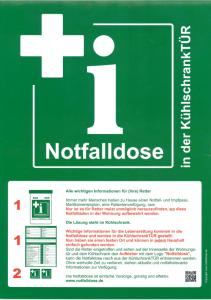 Bild Grüne Notfalldose
